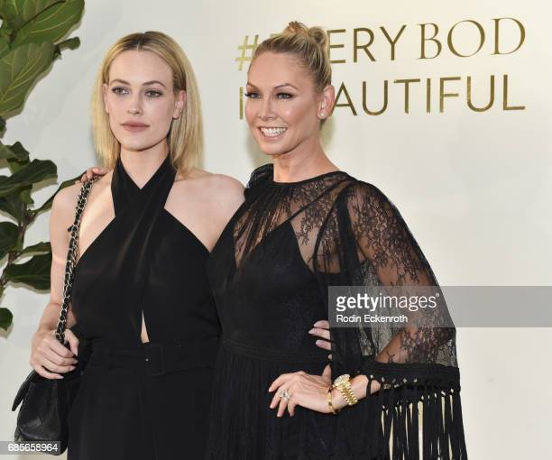 Dancers Peta Murgatroyd and Kym Herjavec attend Kym's grand opening of The Bod on May 19 2017 in Beverly Hills California