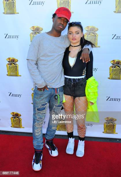 Dancer/songwriter CT and recording artist Laci Kay attends ZMNY Friends EP release party at The Vault Studio on May 20 2017 in North Hollywood...