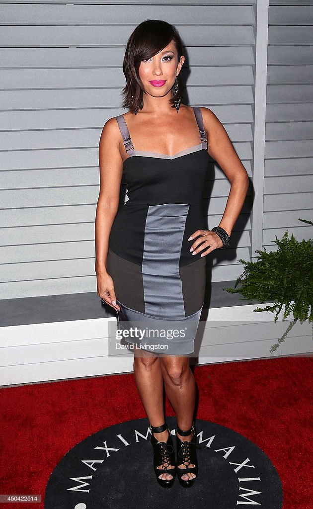 Dancer/TV personality <a gi-track='captionPersonalityLinkClicked' href=/galleries/search?phrase=Cheryl+Burke&family=editorial&specificpeople=540289 ng-click='$event.stopPropagation()'>Cheryl Burke</a> attends the Maxim Hot 100 event at the Pacific Design Center on June 10, 2014 in West Hollywood, California.