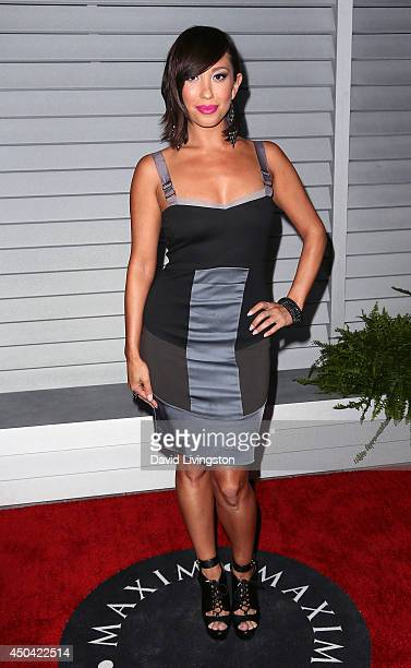 Dancer/TV personality Cheryl Burke attends the Maxim Hot 100 event at the Pacific Design Center on June 10 2014 in West Hollywood California