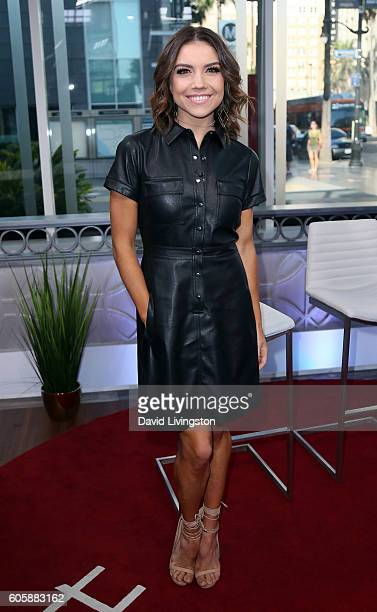 Dancer/TV personality Jenna Johnson visits Hollywood Today Live on September 15 2016 in Hollywood California