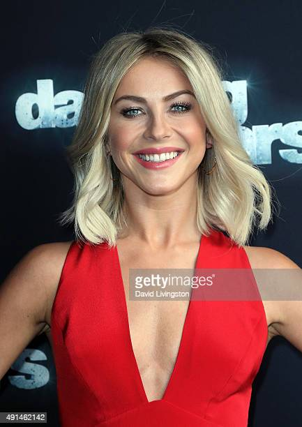 Dancer/TV personality Julianne Hough attends 'Dancing with the Stars' Season 21 at CBS Televison City on October 5 2015 in Los Angeles California