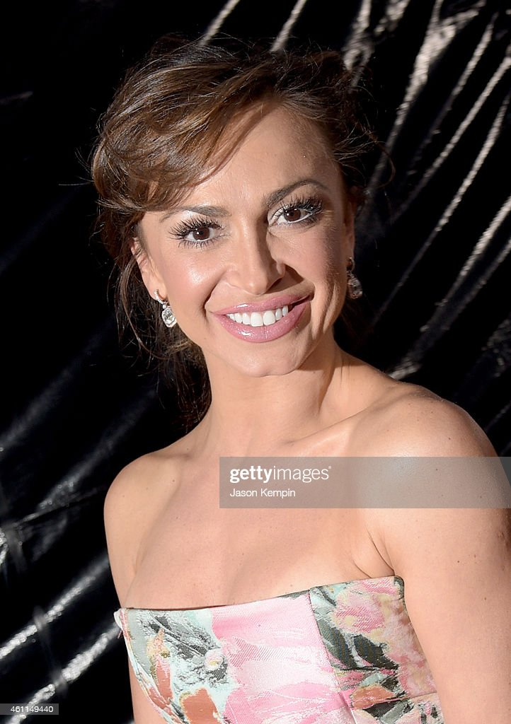 Dancer/TV personality <a gi-track='captionPersonalityLinkClicked' href=/galleries/search?phrase=Karina+Smirnoff&family=editorial&specificpeople=4029232 ng-click='$event.stopPropagation()'>Karina Smirnoff</a> attends The 41st Annual People's Choice Awards at Nokia Theatre LA Live on January 7, 2015 in Los Angeles, California.