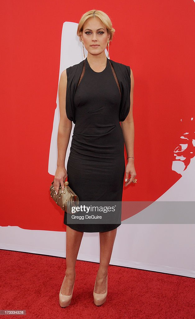 Dancer/TV personality Peta Murgatroyd arrives at the Los Angeles premiere of 'Red 2' at Westwood Village on July 11, 2013 in Los Angeles, California.