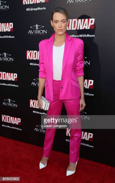 Dancer/TV personality Peta Murgatroyd attends the premiere of Aviron Pictures' 'Kidnap' at ArcLight Hollywood on July 31 2017 in Hollywood California