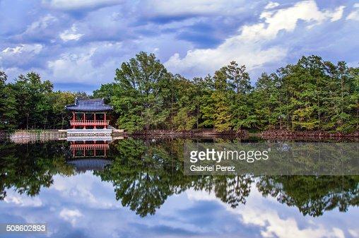 Dancheong Pagoda : Foto de stock