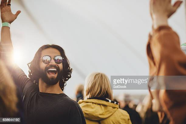 Dancing at a Festival