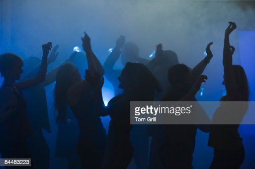 Dancing at a Night Club : Stock Photo