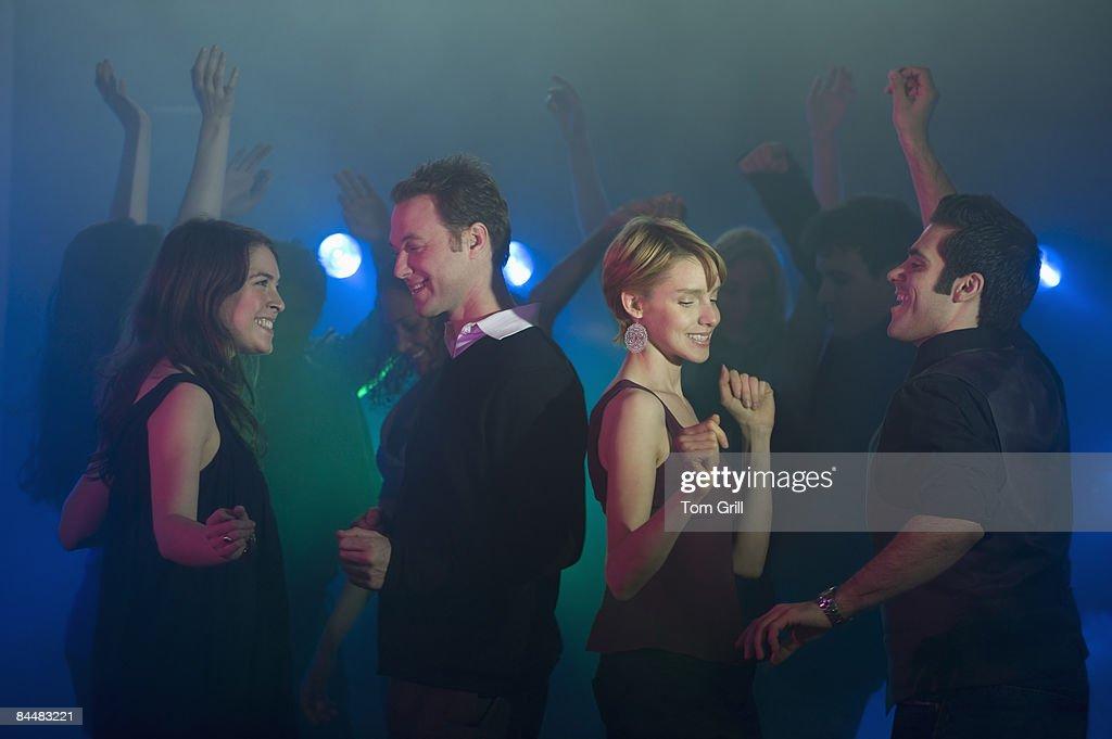 Dancing at a Nightclub : Stock Photo