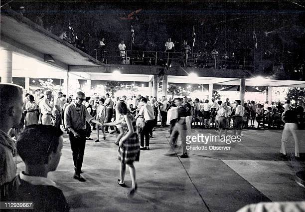 Dancing at the Myrtle Beach Pavillion was always a favorite activity as seen here in 1964 When a covered gathering spot at the Pavilion site burned...