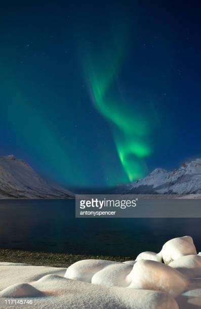 Dancing Aurora over Lapland.