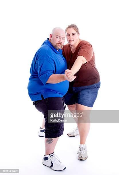 Fat Couple Dancing 47