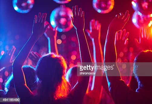 Dancing crowd : Stock Photo