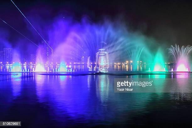 Dancing Fountain Sharjah Corniche Park