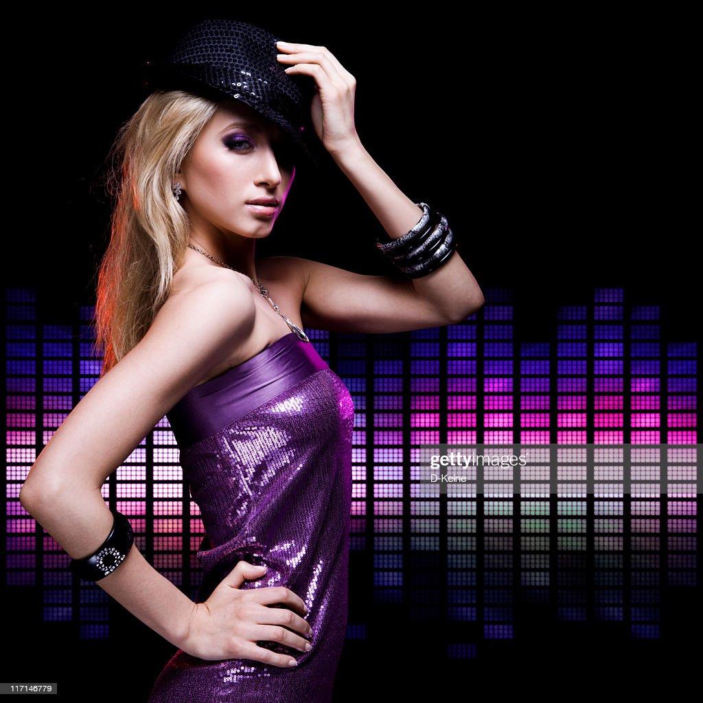 Dancing girl : Stock Photo