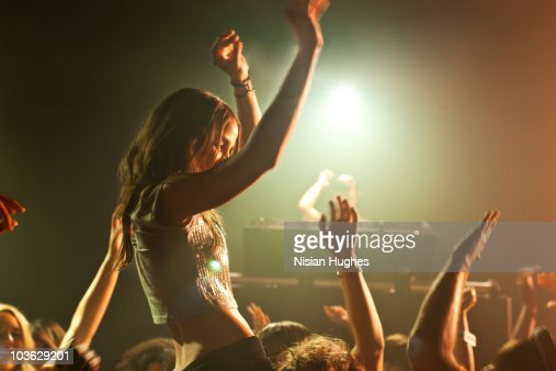 Dancing in nightclub : Stock Photo