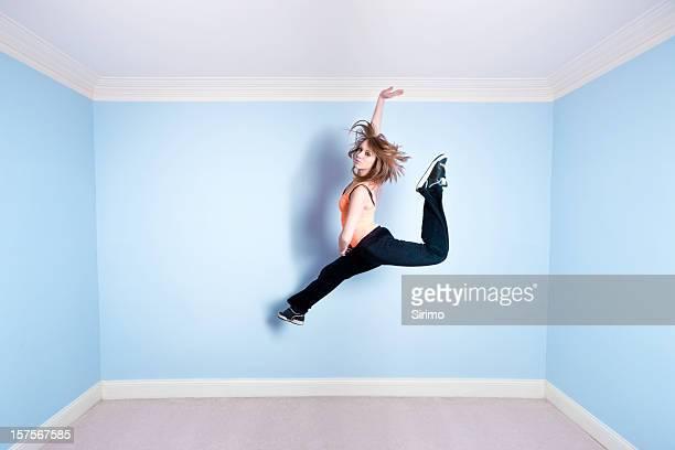 Tanzen in der Luft