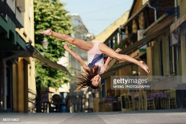 Tanzen auf den Straßen