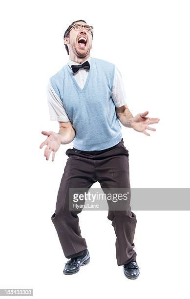 Danse Grand dadais Guy isolé sur blanc