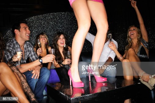 Dancing on the Table : Stock Photo