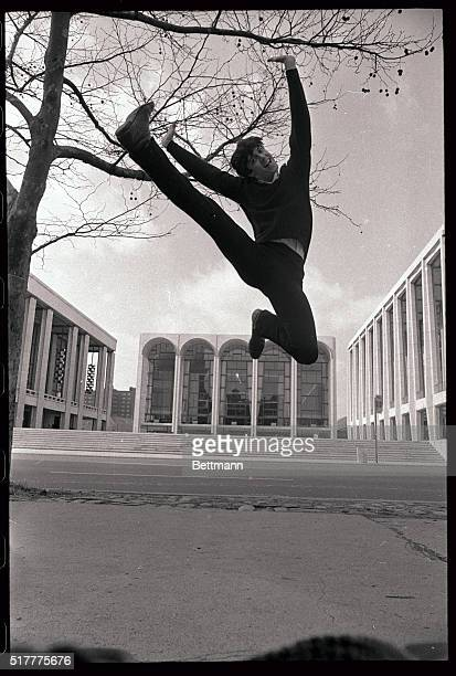 Dancing up a storm in front of Manhattan's Lincoln Center is Tommy Tune a sixfootfiveinch dancer who is now making his Broadway debut in the David...