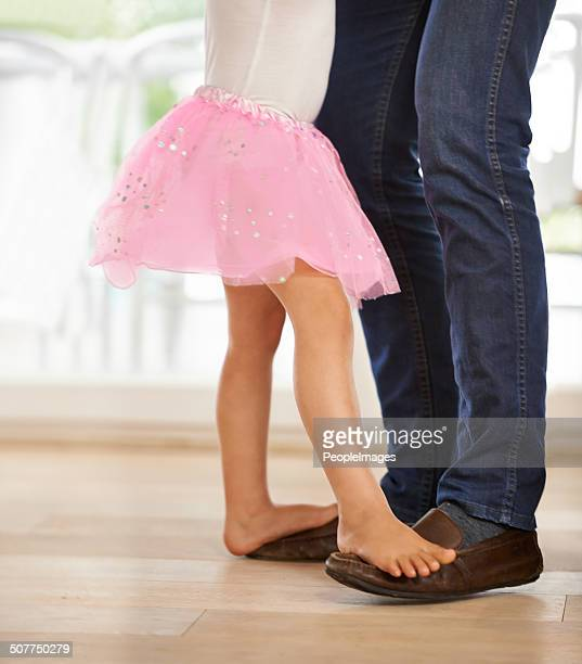 Dancing with daddy's little princess