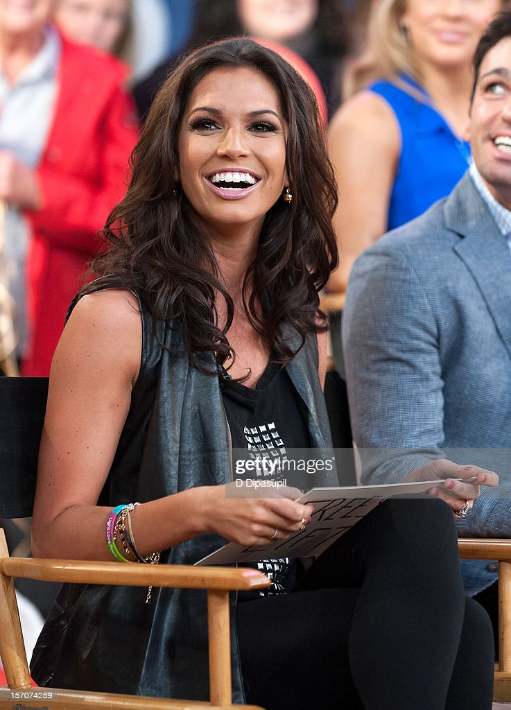 All Stars' winner Melissa Rycroft attends ABC's Good Morning America at ABC News' Good Morning America Times Square Studio on November 28, 2012 in New York City.