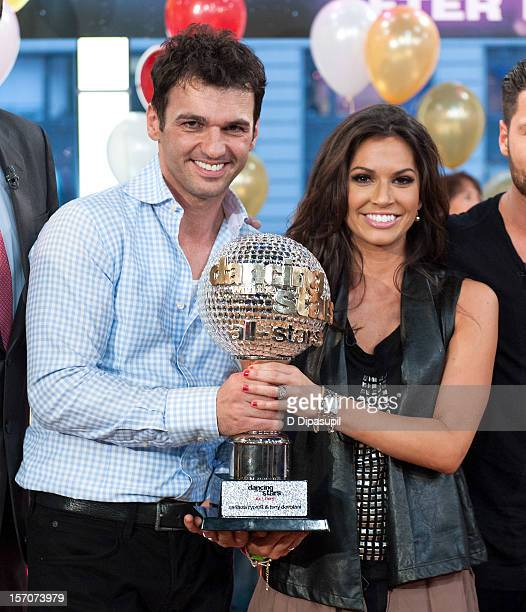'Dancing With The Stars All Stars' winners Melissa Rycroft and Tony Dovolani visit ABC's Good Morning America at ABC News' Good Morning America Times...