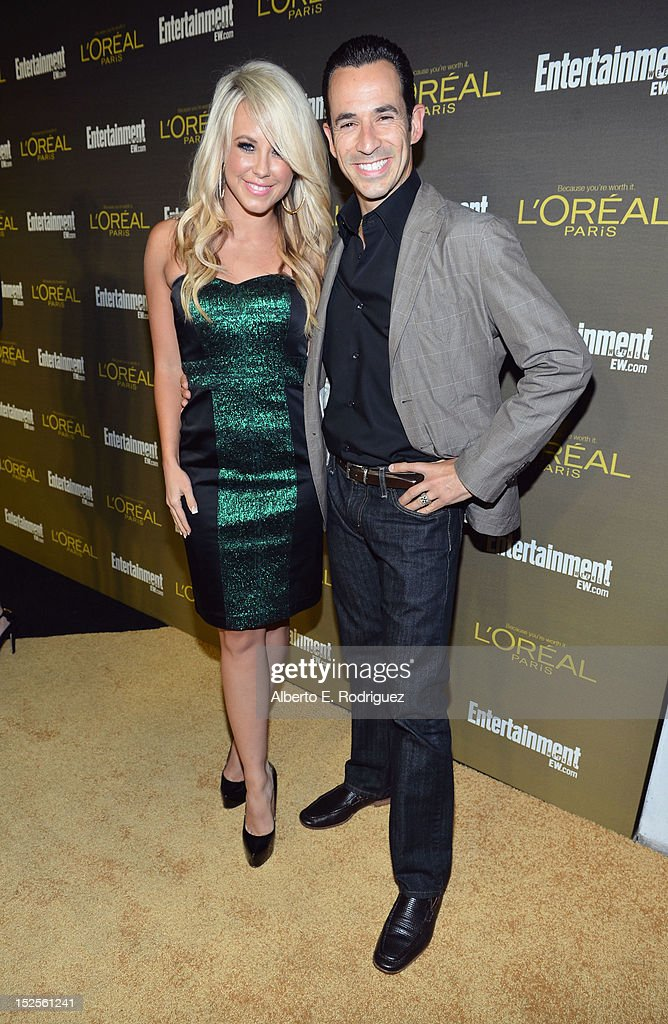 All-Stars' Helio Castronevas and Chlesea Hightower attend The 2012 Entertainment Weekly Pre-Emmy Party Presented By L'Oreal Paris at Fig & Olive Melrose Place on September 21, 2012 in West Hollywood, California.