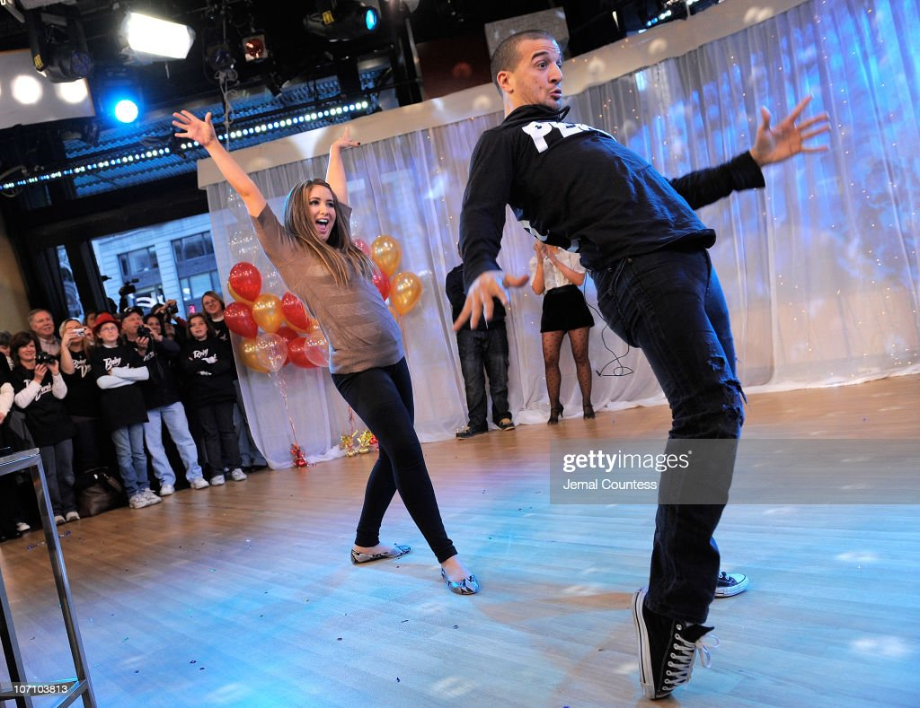 'Dancing with the Stars' contestant Bristol Palin and dancer Mark Ballas contestants from Season 11 of the 'Dancing with the Stars' competition dance...