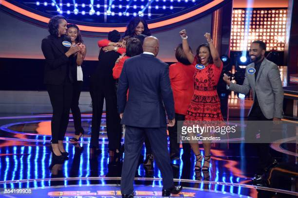 FEUD 'Dancing with the Stars vs Shark Tank and Cynthia Bailey vs Kandi BurrussTucker' The celebrity teams competing to win cash for their charities...