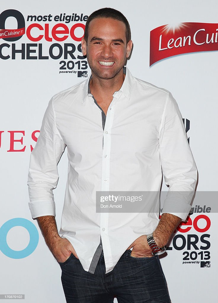Dane Bouris arrives at the CLEO Bachelor of the Year Awards at the Beresford Hotel on June 12, 2013 in Sydney, Australia.