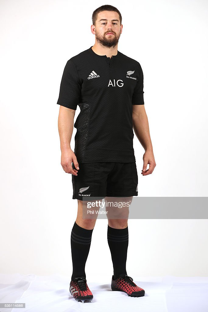 <a gi-track='captionPersonalityLinkClicked' href=/galleries/search?phrase=Dane+Coles&family=editorial&specificpeople=677007 ng-click='$event.stopPropagation()'>Dane Coles</a> of the All Blacks poses for a portrait during a New Zealand All Black portrait session on May 29, 2016 in Auckland, New Zealand.