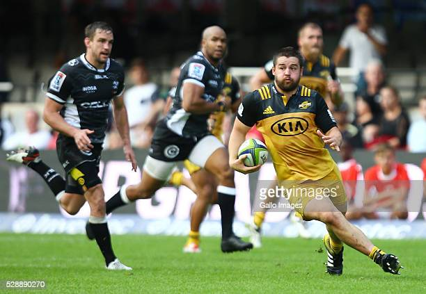 Dane Coles of the Hurricanes during the Super Rugby match between Cell C Sharks and Hurricanes at Growthpoint Kings Park on May 07 2016 in Durban...