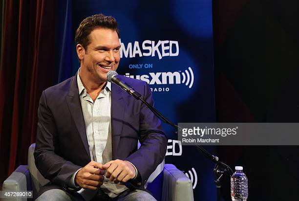 Dane Cook visits SiriusXM's Unmasked hosted by Ron Bennington at Carolines on Broadway on October 15 2014 in New York City
