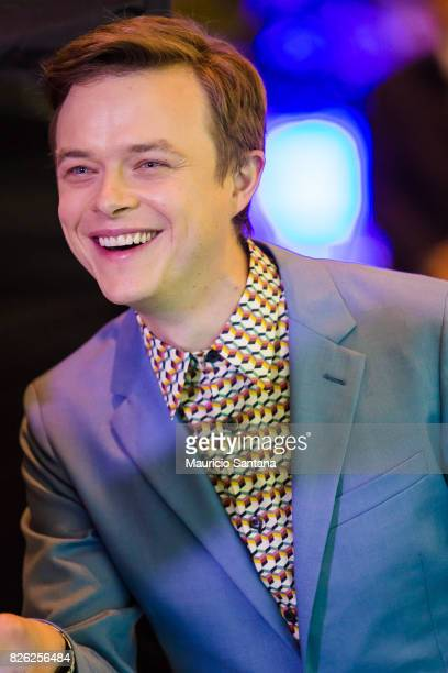 Dane DeHaan actor attends the 'Valerian' Sao Paulo Premiere at Cinepolis JK on August 3 2017 in Sao Paulo Brazil