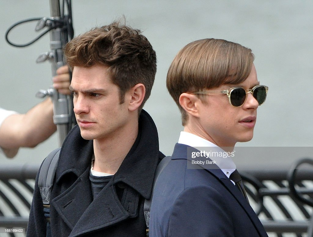 on location for quotthe amazing spiderman 2quot getty images