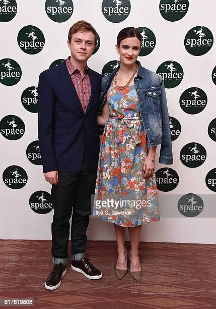 Dane DeHaan and Anna Wood attend the Farm in the City SPACE on Ryder Farm Gala at Sun West Studios on October 24 2016 in New York City