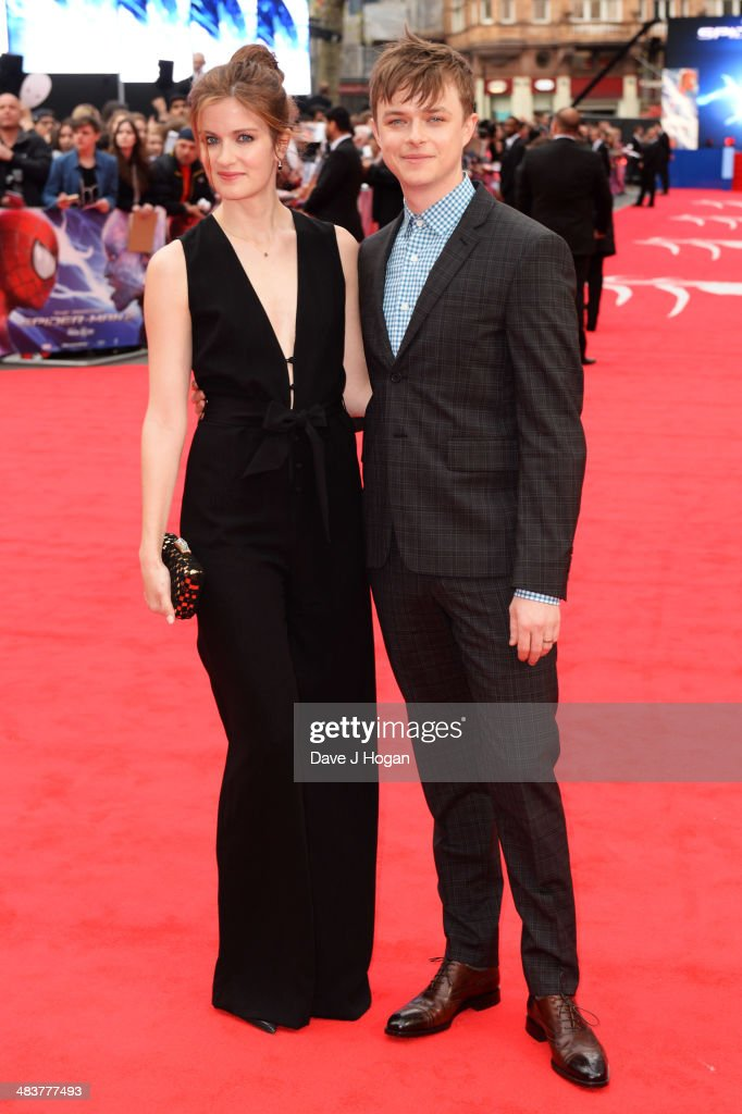 <a gi-track='captionPersonalityLinkClicked' href=/galleries/search?phrase=Dane+DeHaan&family=editorial&specificpeople=6890481 ng-click='$event.stopPropagation()'>Dane DeHaan</a> and Anna Wood attend the world premiere of 'The Amazing Spider-Man 2' at The Odeon Leicester Square on April 10, 2014 in London, England.