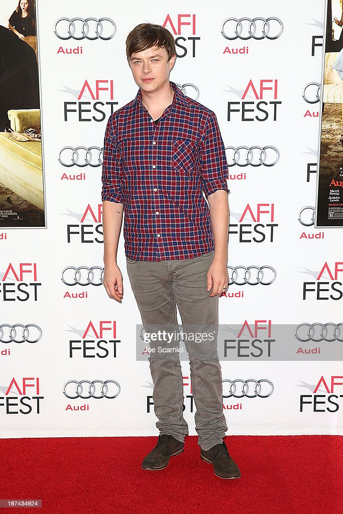 <a gi-track='captionPersonalityLinkClicked' href=/galleries/search?phrase=Dane+DeHaan&family=editorial&specificpeople=6890481 ng-click='$event.stopPropagation()'>Dane DeHaan</a> arrives at the AFI FEST 2013 Presented By Audi - Los Angeles Times Young Hollywood Roundtable at TCL Chinese Theatre on November 8, 2013 in Hollywood, California.