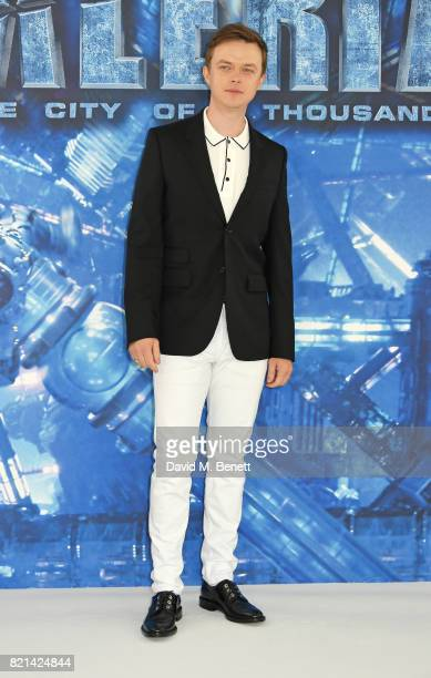 Dane DeHaan attends a photocall for 'Valerian And The City Of A Thousand Planets' at The Langham Hotel on July 24 2017 in London England
