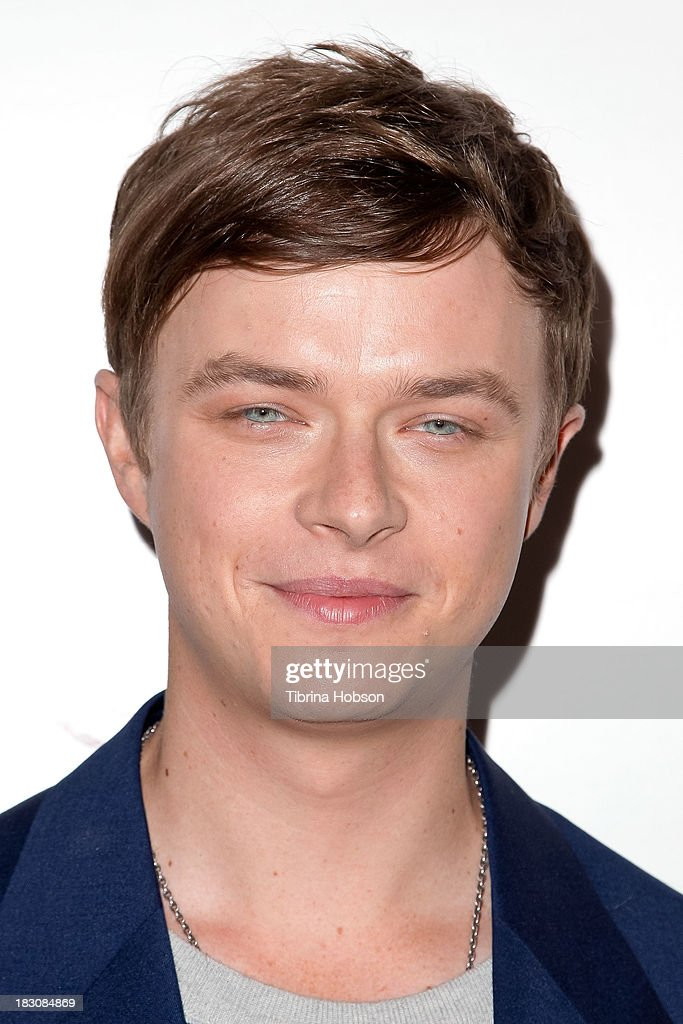 <a gi-track='captionPersonalityLinkClicked' href=/galleries/search?phrase=Dane+DeHaan&family=editorial&specificpeople=6890481 ng-click='$event.stopPropagation()'>Dane DeHaan</a> attends the 'Kill Your Darlings' Los Angeles premiere at Writers Guild Theater on October 3, 2013 in Beverly Hills, California.