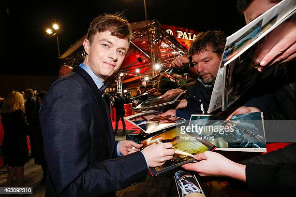 Dane DeHaan attends the 'Life' Premiere AUDI at The 65th Berlinale International Film Festival on February 09 2015 in Berlin Germany