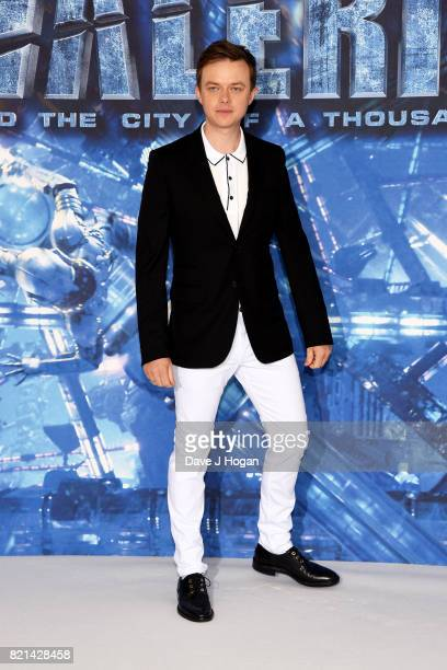 Dane DeHaan attends the photocall of 'Valerian and The City of a Thousand Planets' at The Langham Hotel on July 24 2017 in London England
