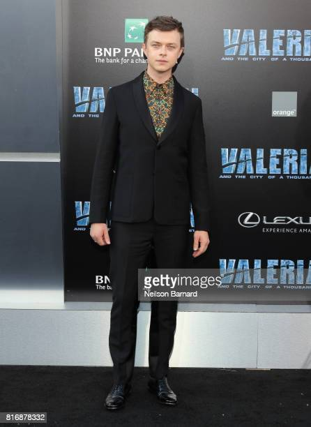 Dane DeHaan attends the premiere of EuropaCorp and STX Entertainment's 'Valerian and The City of a Thousand Planets' at TCL Chinese Theatre on July...