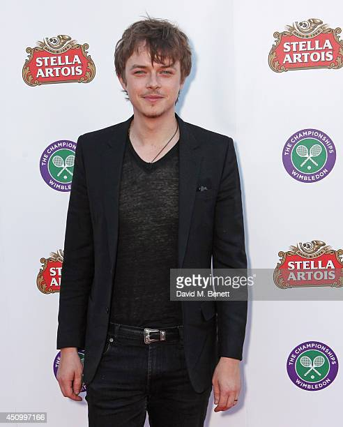 Dane DeHaan attends the Stella Artois Wimbledon 2014 official launch party at Cannizaro House on June 21 2014 in London England Stella Artois is the...