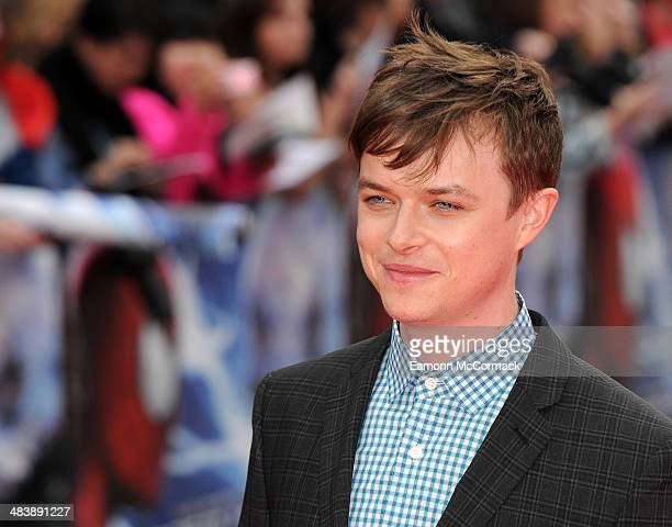 Dane DeHaan attends the World Premiere of 'The Amazing SpiderMan 2' at Odeon Leicester Square on April 10 2014 in London England