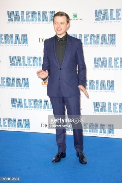 Dane Dehaan attends 'Valerian et la Cite desMille Planetes' Paris Premiere at La Cite Du Cinema on July 25 2017 in SaintDenis France