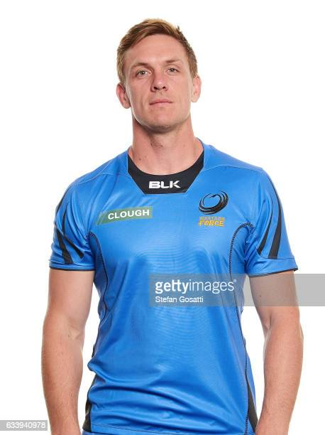 Dane HaylettPetty poses during the Western Force Super Rugby headshots session on January 20 2017 in Perth Australia