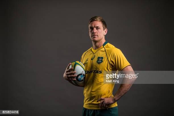 Dane HaylettPetty poses for a headshot during the Australian Wallabies Player Camp at the AIS on April 11 2017 in Canberra Australia